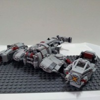 Defense of Crait Speeder 3.0