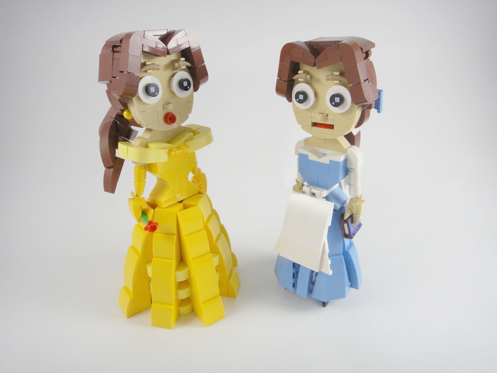 {YOS Lego 03} Belle (Beauty and the Beast)