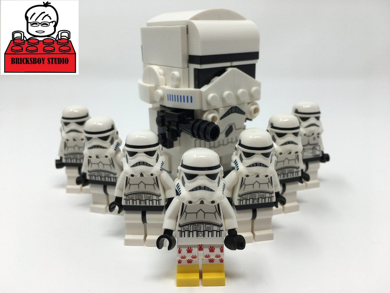 LEGO Star Wars # 41620 Stormtrooper Stop Motion Speed Build